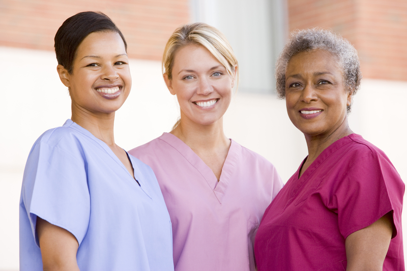 Image, 3 nurses standing together